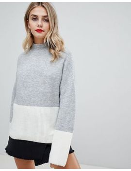 Missguided – Pullover Mit Farbblockdesign by Asos