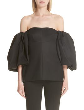 Countess Off The Shoulder Corset Top by Ellery