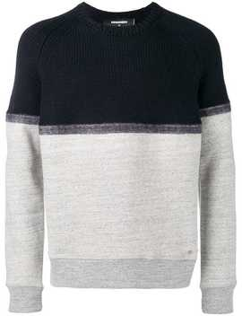 Two Tone Sweatshirt by Dsquared2