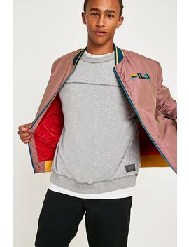 Fila Skyler Grey Bomber Jacket by Fila