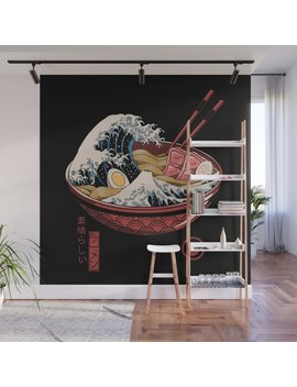 Great Ramen Wave Wall Mural by