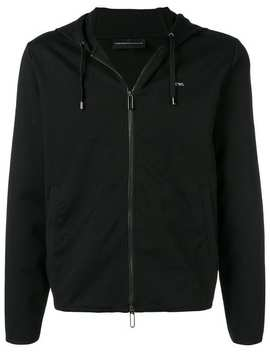 Zip Hoodie by Emporio Armani