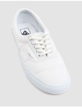 Puffer Era Sneaker In True White by Vans