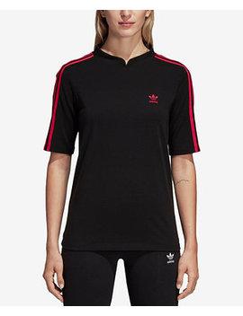 Leoflage Mandarin Collar T Shirt by Adidas Originals
