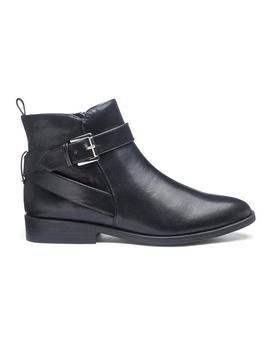 Strap And Buckle Ankle Boots by Simply Be