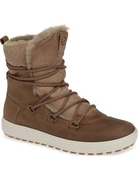 Soft 7 Tred Waterproof Genuine Shearling Lined Bootie by Ecco