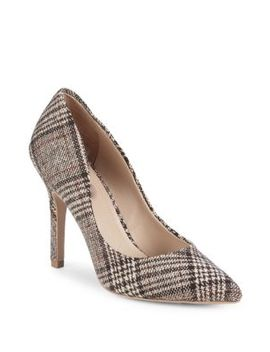 Maxx Plaid Point Toe Pumps by Charles By Charles David