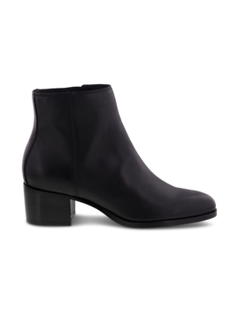 Miller Black Jetta Ankle Boots by Tony Bianco
