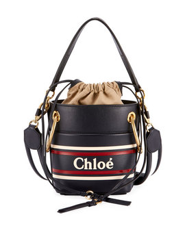 Roy Mini Leather Bucket Bag by Chloe