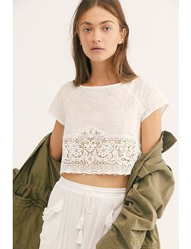 Tea For Two Tee by Free People