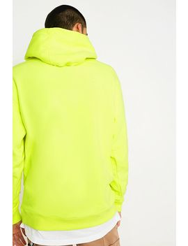 Tommy Jeans Small Logo Yellow Hoodie by Tommy Jeans