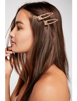 Metallic Salon Slide Set by Free People