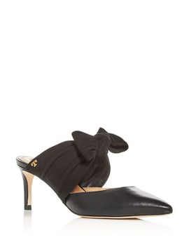 Women's Elenor Pointed Toe Mules by Tory Burch