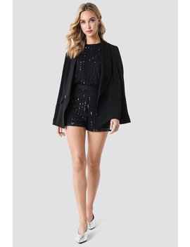 Sequins Shorts by Na Kd Party