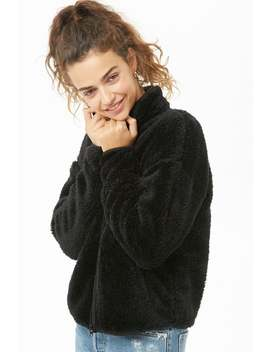 Active Faux Fur Jacket by Forever 21