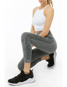 Active Marled 7/8 Leggings by Forever 21