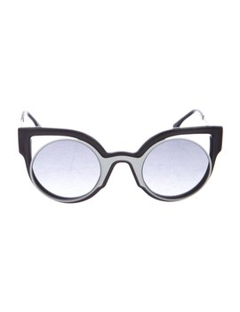 Oversize Cat Eye Sunglasses by Fendi