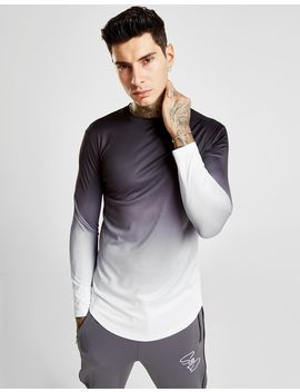 Supply & Demand Fade Dip Long Sleeve T Shirt by Supply & Demand
