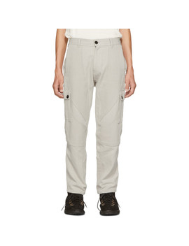 Grey Utility Cargo Pants by Phipps