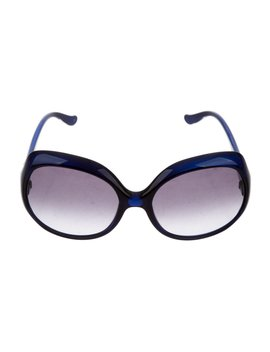 Oversize Tinted Sunglasses by Fendi