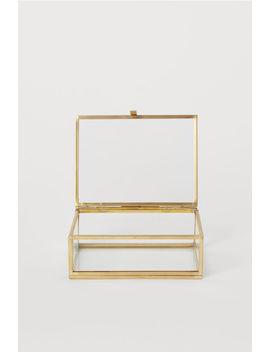 Caja De Vidrio Transparente by H&M