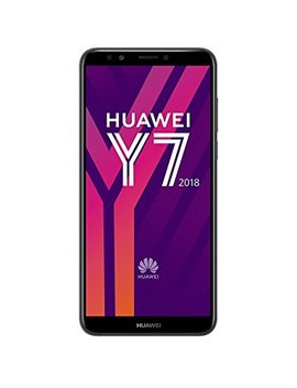 Huawei Y7 2018 16 Gb 5.99 Inch Hd+ Full View Android 8.0 Sim Free Smartphone, Single Sim, Uk Version   Black by Huawei