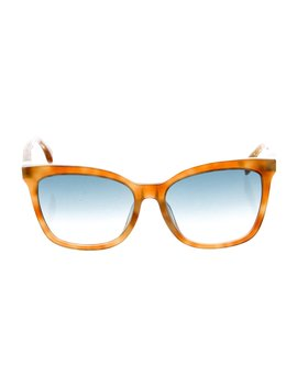 Tortoiseshell Square Sunglasses W/ Tags by Fendi