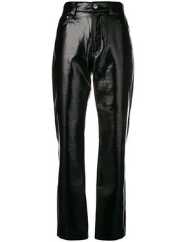 Straight Leg Trousers by Msgm