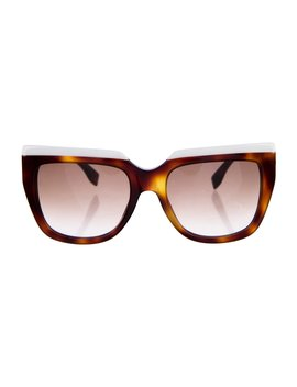 Tortoiseshell Gradient Sunglasses by Fendi