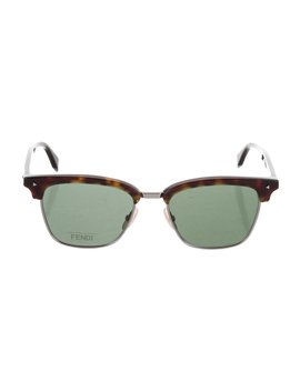 Tortoiseshell Tinted Sunglasses W/ Tags by Fendi