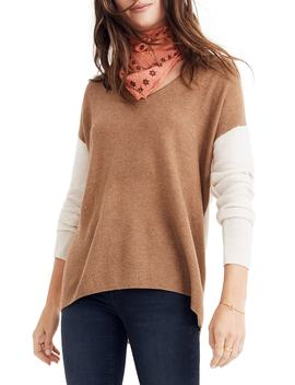 Kimball Colorblock Sweater by Madewell