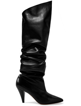Bottes En Cuir by Givenchy