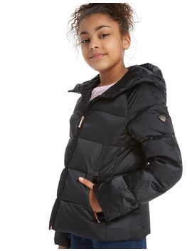 Emporio Armani Ea7 Girls' Shiny Down Jacket Junior by Emporio Armani Ea7