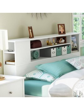 South Shore Vito Bookcase Headboard, Multiple Colors And Sizes by South Shore Furniture