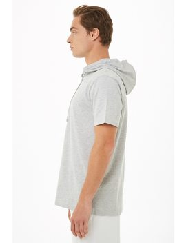 Heathered Hooded Top by Forever 21