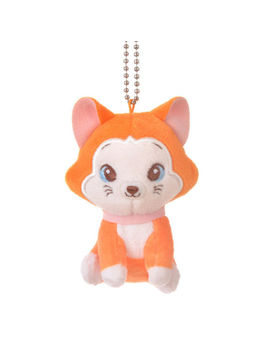Dinah Mini Plush Doll Keychain * Alice In Wonderland   Disney Store Japan by Disney Store Japan