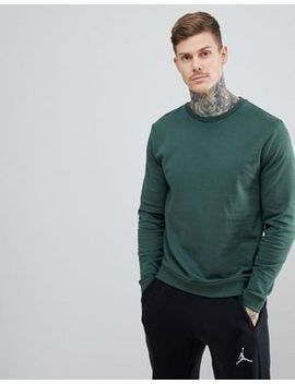 Asos Design   Sweat Shirt   Vert by Asos Design