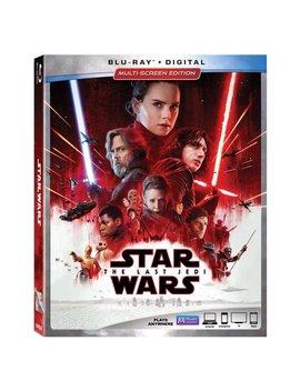 Star Wars: Episode Viii: The Last Jedi (Blu Ray + Digital) by Lucas Film