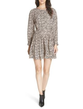 Leopard Print Silk Dress by Rebecca Taylor