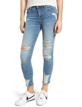 Marley Distressed Skinny Jeans by Vigoss
