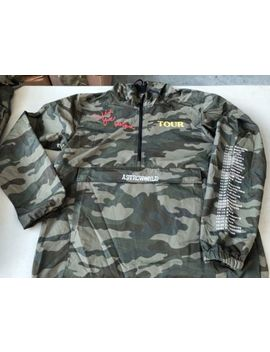 Travis Scott Astroworld Tour Camo Pullover   Exclusive Tour Merch Size Xl by Ebay Seller