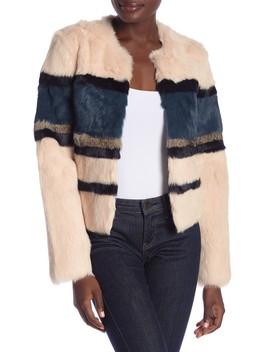 Genuine Rabbit Fur Jacket by Bagatelle