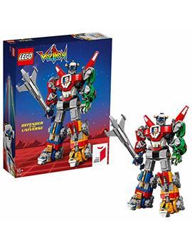 Lego 21311 Ideas Voltron Legendary Defender Series 5 Buildable Lion Figures, Robot Building Kit, Action Toys by Lego