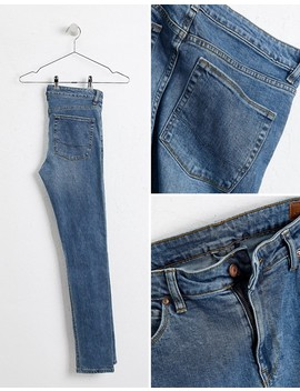 Asos Design   Jean Super Skinny   Bleu Moyen by Asos