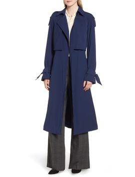 Drapey Trench Caot by Michael Michael Kors