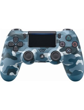Dual Shock 4 Wireless Controller For Sony Play Station 4   Blue Camouflage by Sony