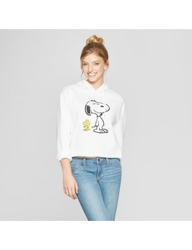 Women's Snoopy Hoodie   White by Freeze