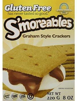 Kinnikinnick S'moreable Graham Cracker 8 Oz (Pack Of 3) by Kinnikinnick