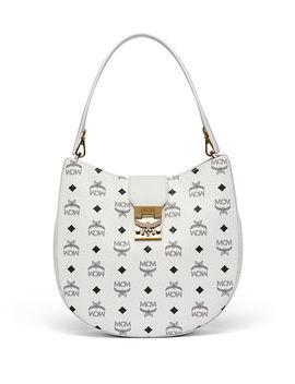 Patricia Visetos Outline Hobo Bag by Mcm