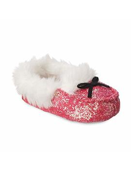 Disney Minnie Mouse Slippers Kids Pink by Disney